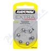 Rayovac Extra Adv. 10 baterie do naslouchadel 6ks