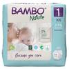 Bambo Nature 1 dětské plenkové kalhotky 2-4kg 22ks