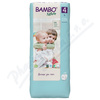 Bambo Nature 4 děts. plenkové kalhotky 7-14kg 48ks