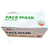 FACE MASK zdravotni. maska s gumičkami ústenka 50ks
