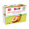 HiPP 100% OVOCE BIO Jablka s broskvemi 4x100g