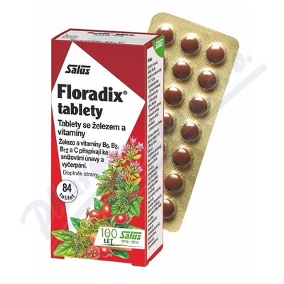 Salus Floradix tablety 84ks
