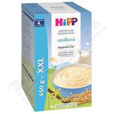 HiPP KAŠE PRAEBIOTIK mléčná vanilková 2x225g