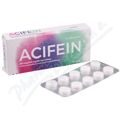 Acifein 250mg-200mg-50mg tbl.nob.10